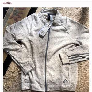 Adidas track hoodie- retails $60